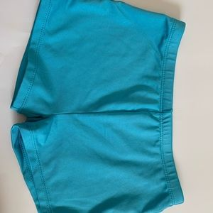Other - Blue gymnast shorts